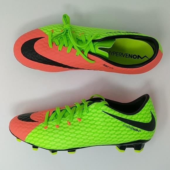 f50e639a9d6d Nike Hypervenom Phelon 3 FG Soccer Cleats New